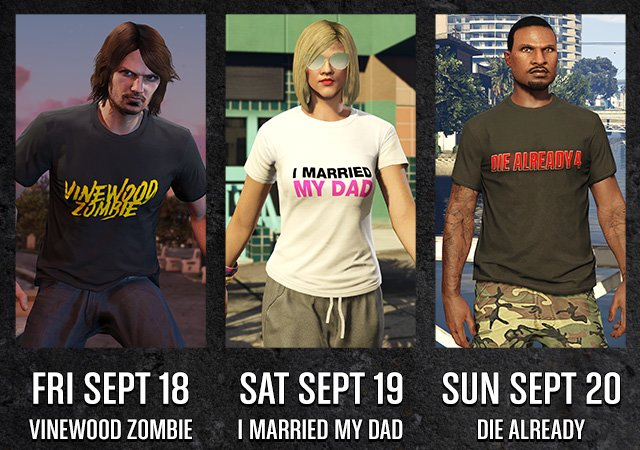 Exclusive daily t-shirt deals
